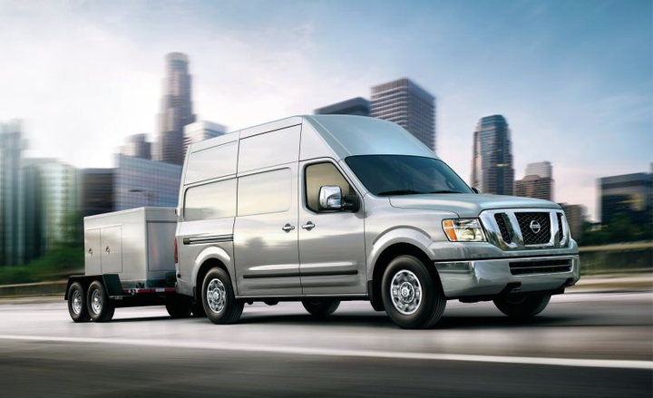 Nissan's 2019 NV Cargo full-size van increases $490 from the outgoing model.