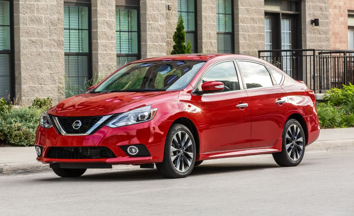 Nissan's Sentra gets a revamped infotainment system and addsdriver-assisting technology for 2019.  - Photo courtesy of Nissan.