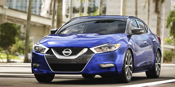 Nissan has recalled four models, including the 2018 Maxima (shown), for a brake fluid leak.