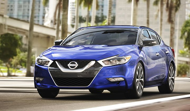 Nissan has recalled four models, including the 2018 Maxima (shown), for a brake fluid leak. - Photo courtesy of Nissan.