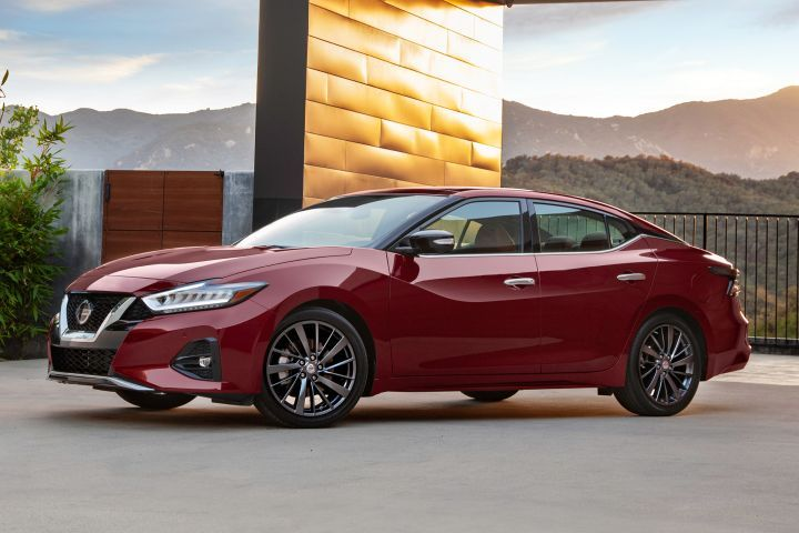 Nissan's base 2019 Maxima increases $480 from the outgoing model, and arrives with several updates.  - Photo courtesy of Nissan.