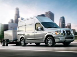 Nissan's 2019 NV was among the vehicles named by Vincentric as having the highest value for fleets over a three-year ownership period.