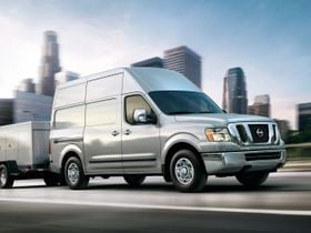 Nissan's 2020 NV Cargo Van Starts at $31,285