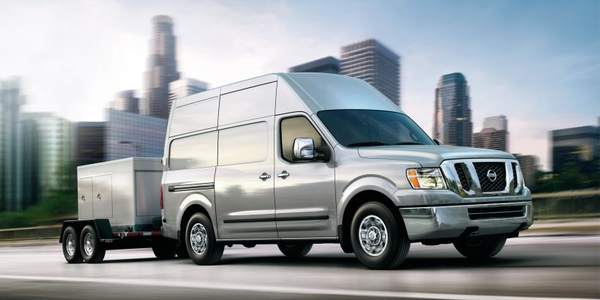 Nissan's 2019 NV was among the vehicles named by Vincentric as having the highest value for...