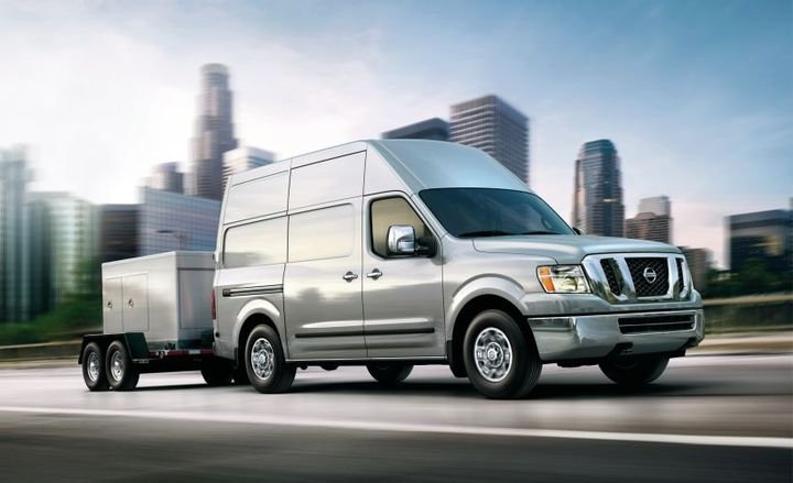 Nissan is reducing production of its NV cargo van (2019 model shown) at its Mississippi assembly plant.