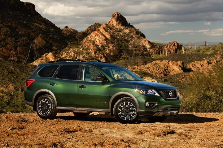Nissan will offer its 2019 Pathfinder Rock Creek model with customization options that also reduce the cost.  - Photo courtesy of Nissan.