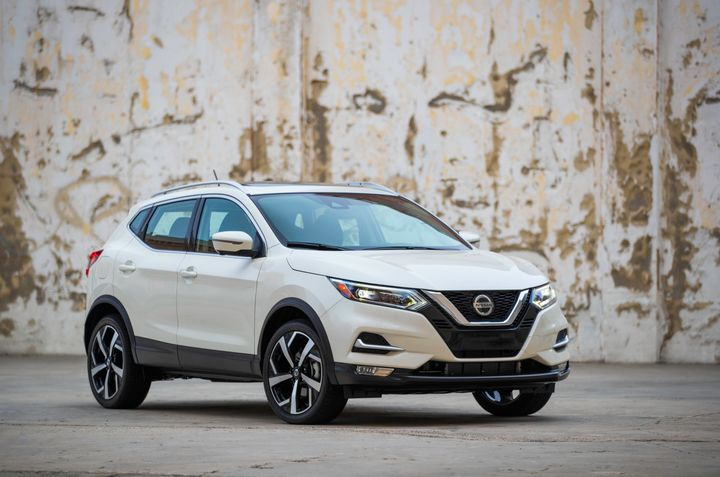 Nissan's 2020 Rogue Sport retails for $24,335 for the base S front-wheel drive subcompact SUV. - Photo courtesy of Nissan.