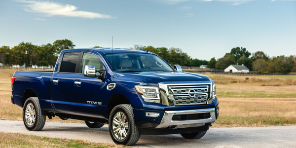 Nissan's updates for the gasoline-powered 2020 Titan XD include a more fuel efficient...