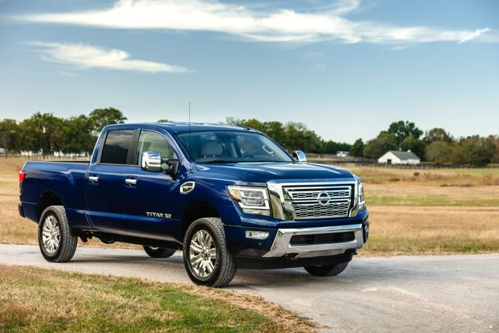 Nissan's updates for the gasoline-powered 2020 Titan XD include a more fuel efficient transmission and new safety technologies.