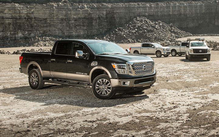 Nissan is discontinuing its diesel-powered Titan XD pickup due to low sales.  - Photo courtesy of Nissan.