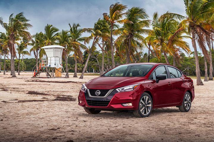 Nissan's 2020 Versa subcompact sedan adds an array of safety technology for its third generation.