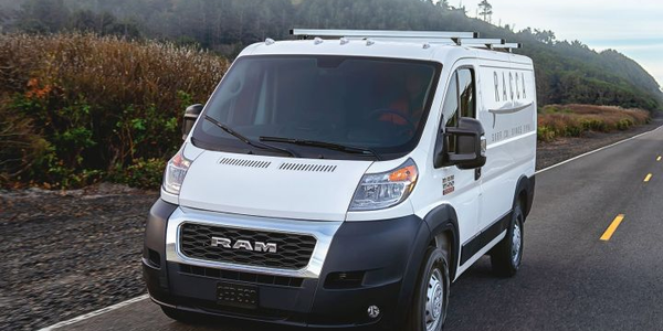 The Ram ProMaster full-size van will offer several features only to fleet buyers, including an...