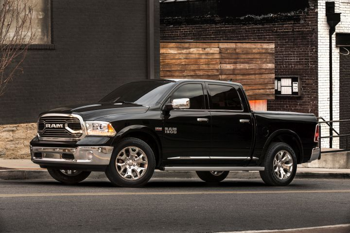 FCA is recalling its Ram 1500 (shown), Ram 2500, and Ram 3500 pickups and 3500 chassis cab for a steering and brake possible defect.