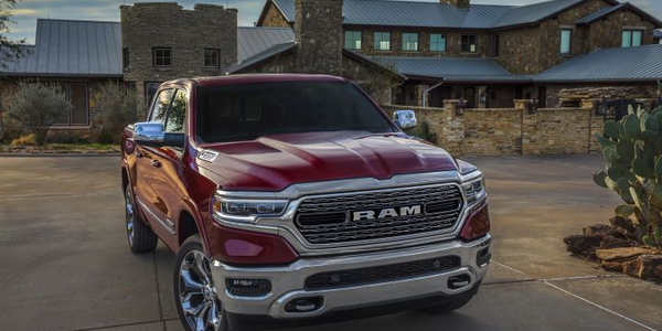 FCA is recalling a small number of its 2019 Ram 1500 trucks (shown) and Jeep Wranglers because...