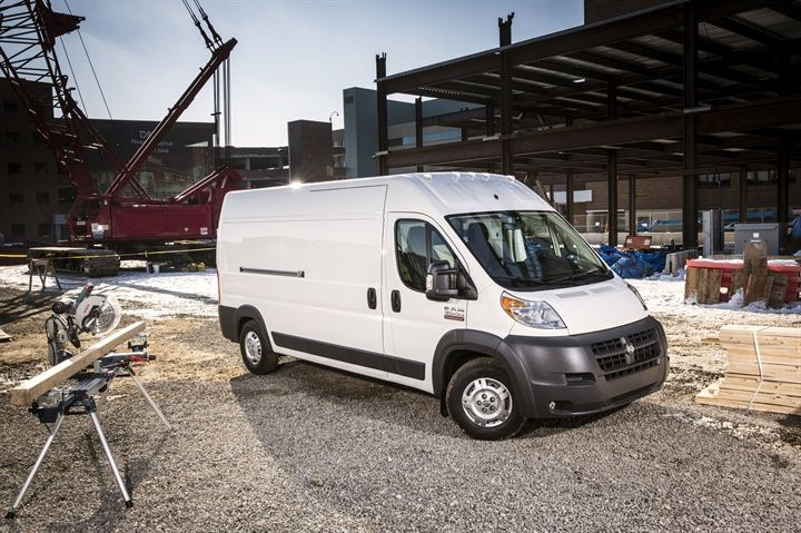 Ram ProMaster vans from 2015 to 2018 have been recalled for a faulty engine cooling fan. - Photo courtesy of FCA.
