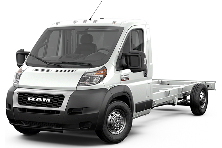 2019 Ram ProMaster Cab Chassis 3500