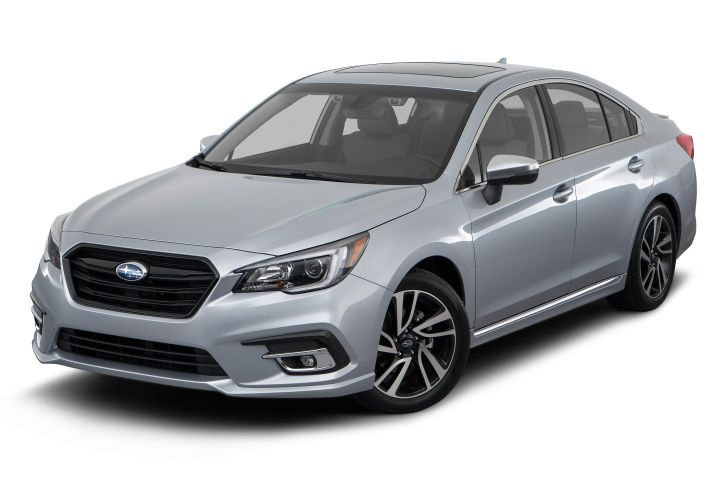Subaru is recalling is 2018 Legacy (shown) and Outback because a software error is causing the fuel display to malfunction.