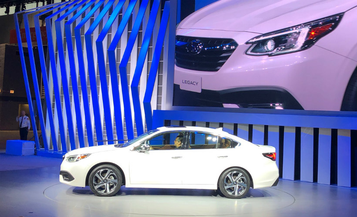 Subaru's 2020 Legacy enters its seventh generation as a safer, more connected midsize sedan.  - Photo by Paul Clinton.