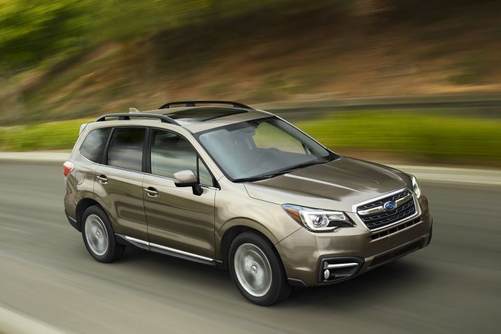 Subaru is recalling its Forester compact SUV due to an electrical connection in the front passenger seat.