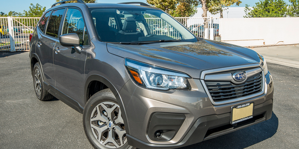The 2020 Forester's exterior remains unchanged, but the compact SUV is adding safety equipment...