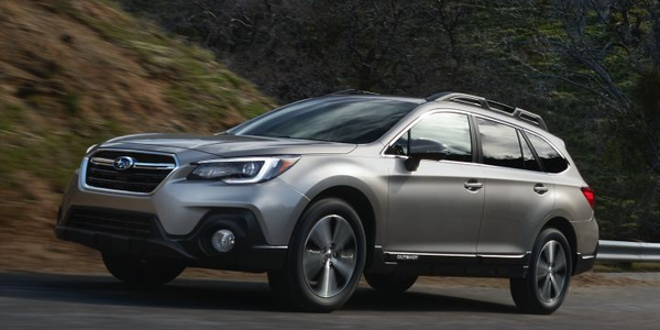 Subaru is recalling its 2019 Legacy and Outback (shown) for improper body welds.