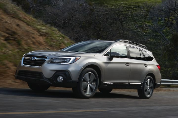 Subaru has extended the fleet ordering window for three of its 2019 vehicles, including its Outback crossover (shown).