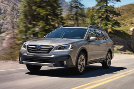 Subaru Recalls 2020 Outback, Legacy for Brake Pedal Issue