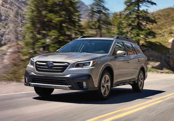 Subaru's 2020 Outback and Legacy enter new generations with additional features and modest price increases.  - Photo courtesy of Subaru.