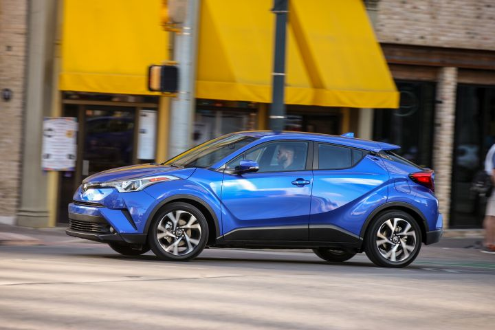 Toyota is recalling its 2019 C-HR for a defect of the rear axle bearing bolts.  - Photo courtesy of Toyota.