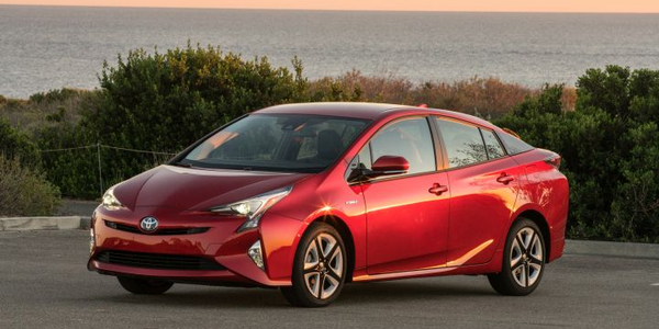 Toyota's Prius (shown), Prius Prime, and Prius C made Consumer Reports' list of the most...