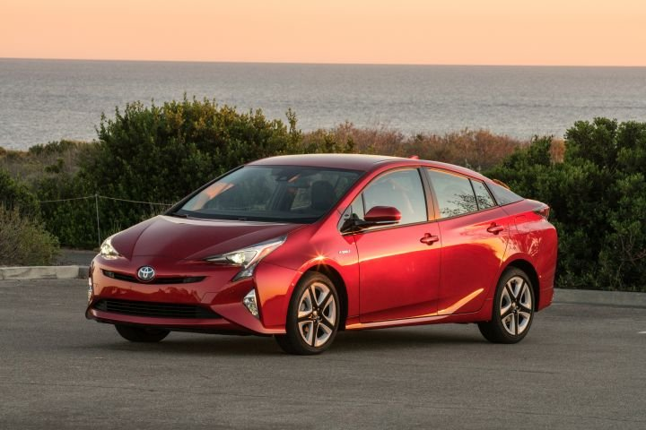 Toyota's Prius (shown), Prius Prime, and Prius C made Consumer Reports' list of the most reliable models of 2018.