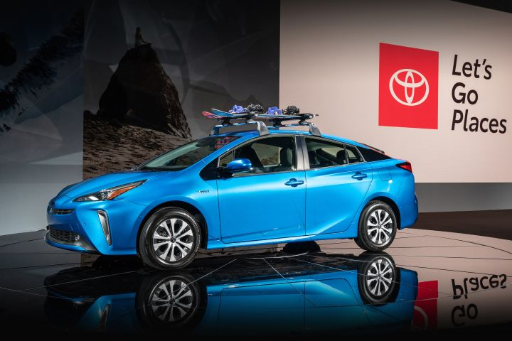 Toyota hopes to expand Prius sales by adding all-wheel drive to the 2019 model.
