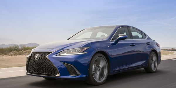 Toyota is recalling its 2019 Lexus ES for the driver knee airbag.