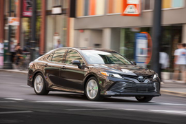 Toyota Camry Recalled for Air Bag Issue