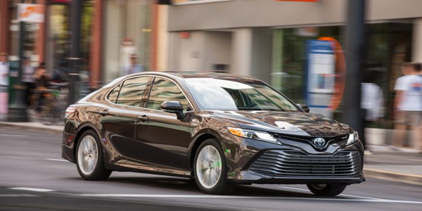 Toyota is recalling its 2019 Camry midsize sedan for a possible air bag defect.