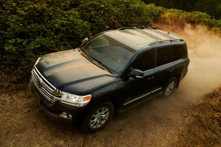 Toyota is recalling its Land Cruiser (shown) and Lexus LX 570 for a possible seat-belt defect.