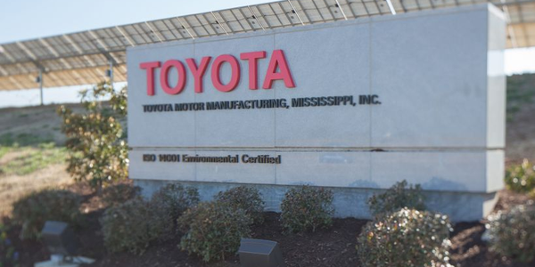 Toyota has begun producing its 2020 Corolla in Mississippi.