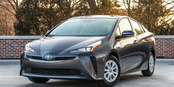 Toyota is recallings its 2019 Prius (Eco L model shown) for an electrical defect.