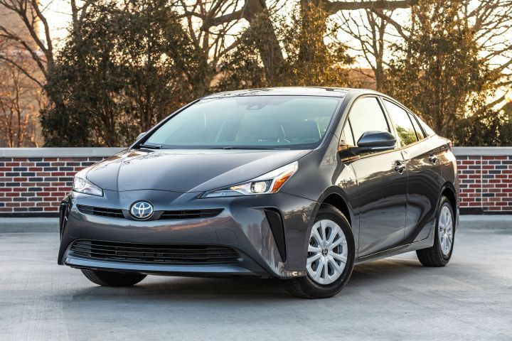 Toyota is recallings its 2019 Prius (Eco L model shown) for an electrical defect. - Photo courtesy of Toyota.