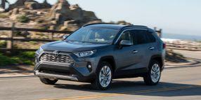 Toyota Recalls 2019 RAV4 for Backup Camera