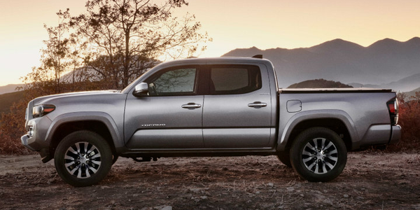 Toyota's Tacoma midsize pickup is one of several updated models for the 2020 model year.