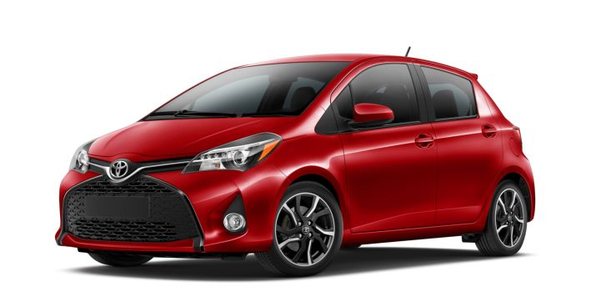 Toyota is recalling its Yaris for an air bag issue.