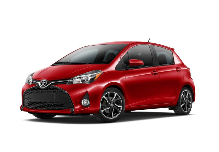 Toyota is recalling its Yaris for an air bag issue.  - Photo courtesy of Toyota.