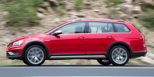 Volkswagen is discontinuing its SportWagen and Alltrack (shown) Golf variants.