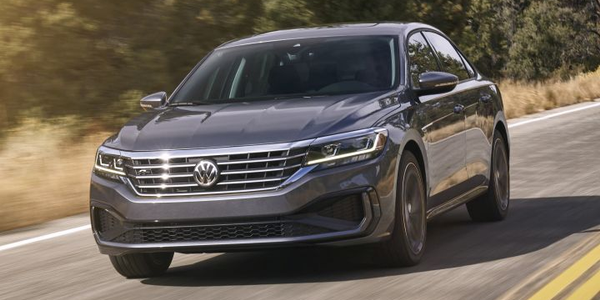 Volkswagen is recalling its Atlas and Passat (2020 model shown) for a possible headlight defect.