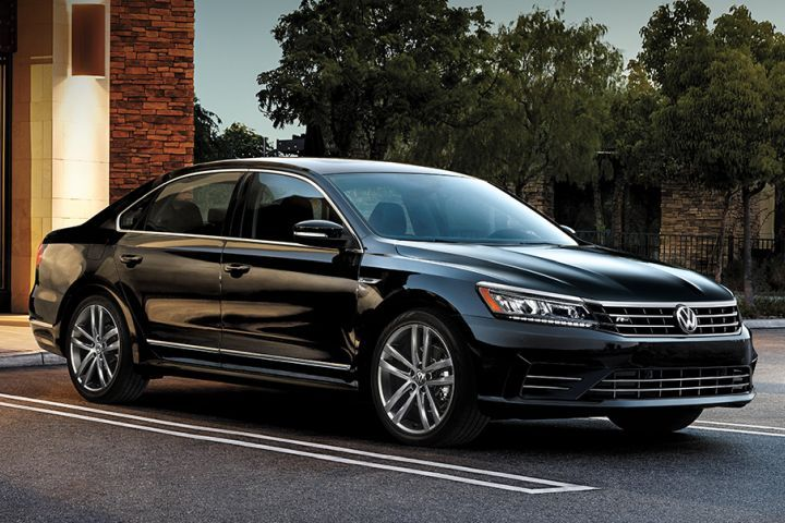 Volkswagen is offering fleet incentives on its 2019 Jetta and Passat (shown).