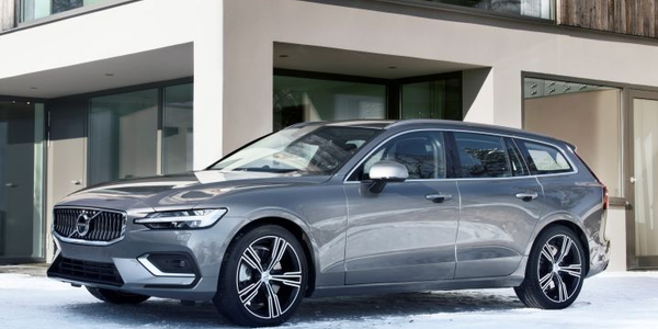Volvo's V60 station wagon enters its second generation with the 2019 model.