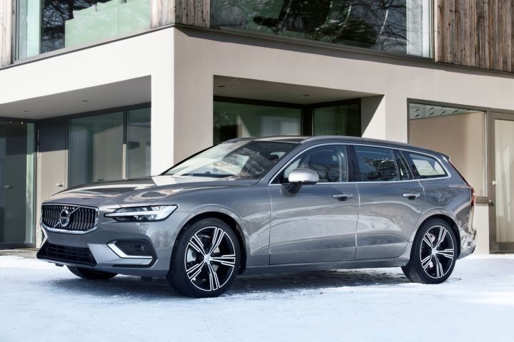 Volvo's V60 station wagon enters its second generation with the 2019 model.  - Photo courtesy of Volvo.
