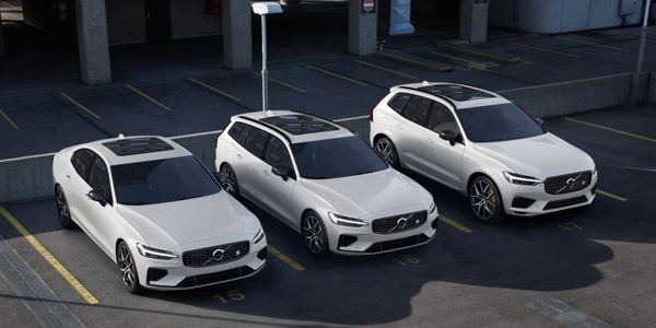 Volvo's 2020 60-Series lineup will offer a plug-in hybrid as a Polestar Engineered trim for the...