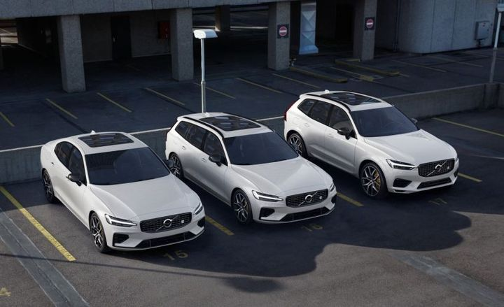 Volvo's 2020 60-Series lineup will offer a plug-in hybrid as a Polestar Engineered trim for the (left to right) S60, V60, and XC60.  - Photo courtesy of Volvo.